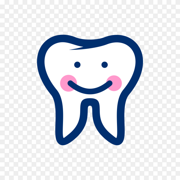 Smile tooth logo on transparent background PNG.png