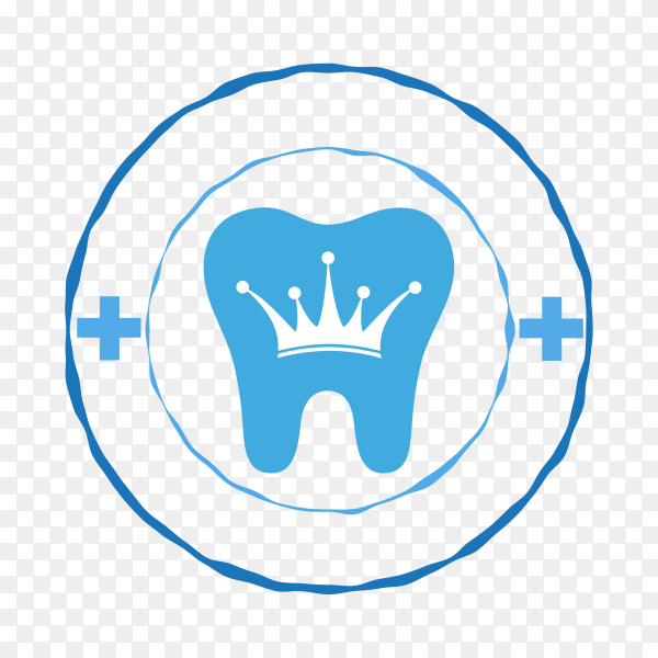 Tooth icon in flat style premium vector PNG.png