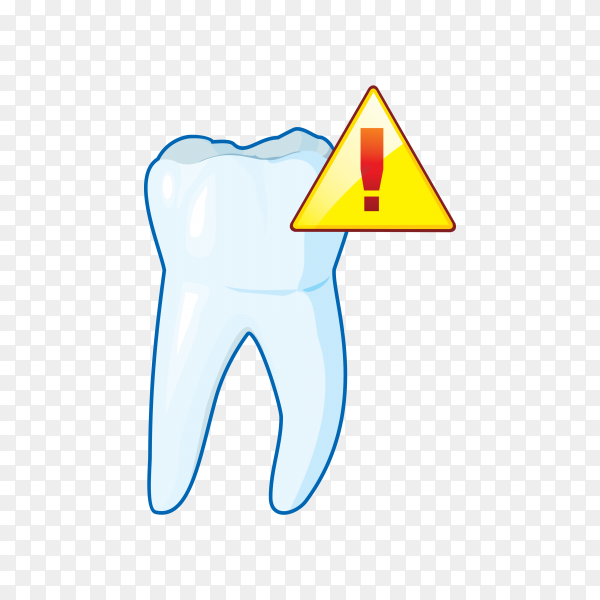 Tooth icon logo on transparent background PNG.png