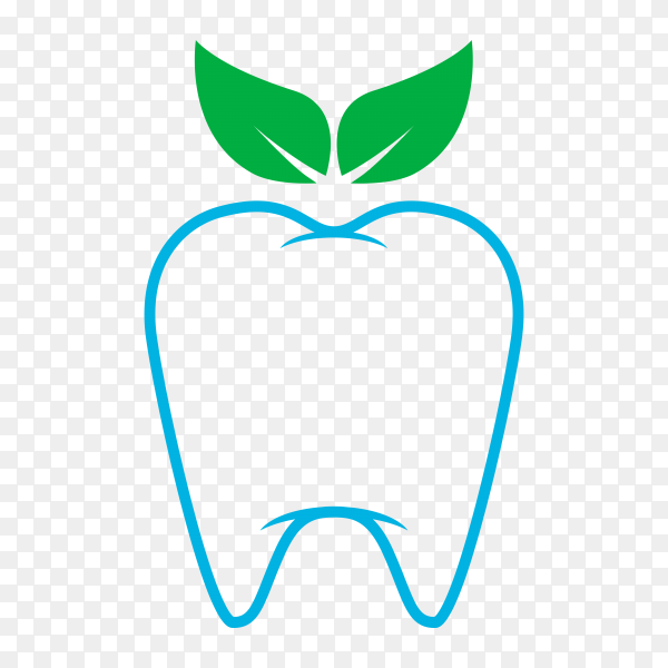 Tooth icon on transparent background PNG.png