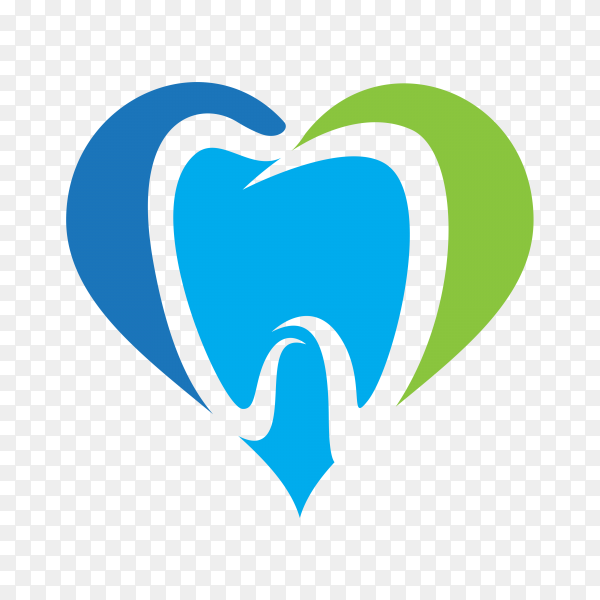 Tooth logo icon for dentist or stomatology dental care design template premium vector PNG.png