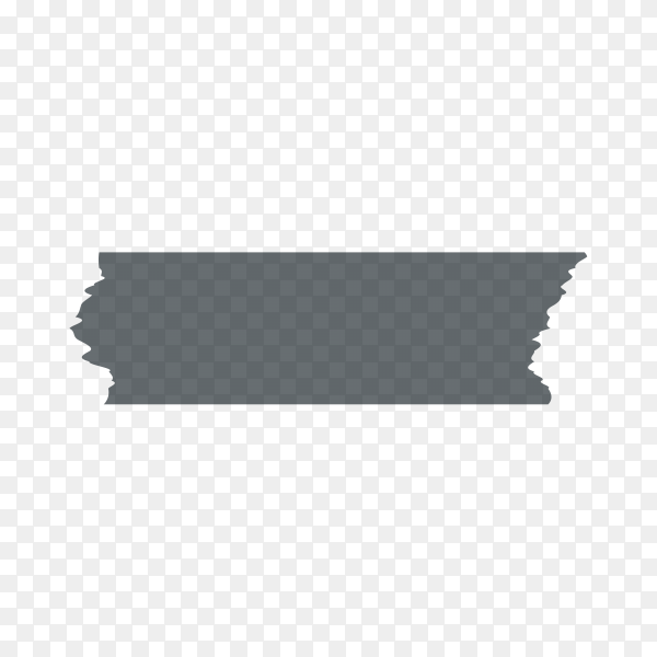 Adhesive, sticky, masking, duct tape strips for text premium vector PNG