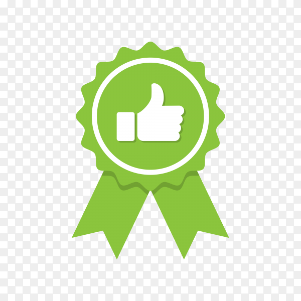 Approved or Certified Medal Icon. Approved certified icon. Certified seal icon on transparent background PNG