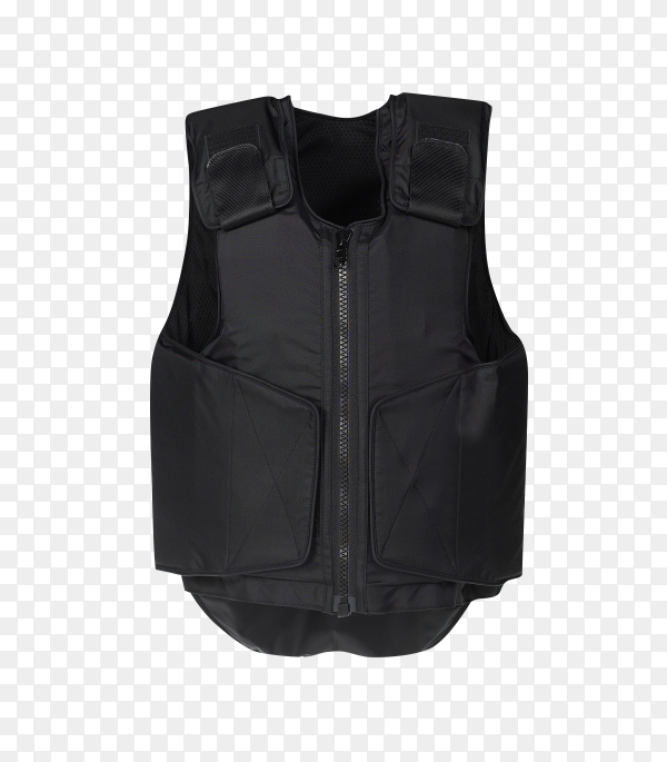 Bulletproof vest isolated on transparent background PNG