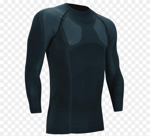 Diving neoprene suit on transparent background PNG