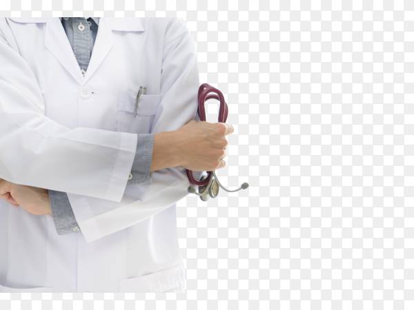 Doctor isolated on transparent background PNG