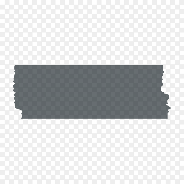 Duct adhesive tape black realistic isolated premium vector PNG