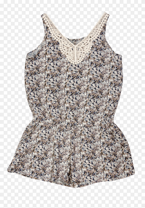 Easy summer women's clothing  on transparent background PNG