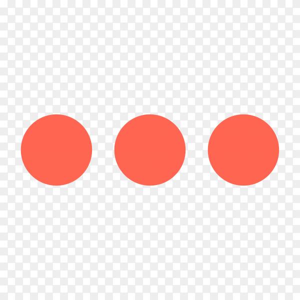 Loading icon design on transparent background PNG