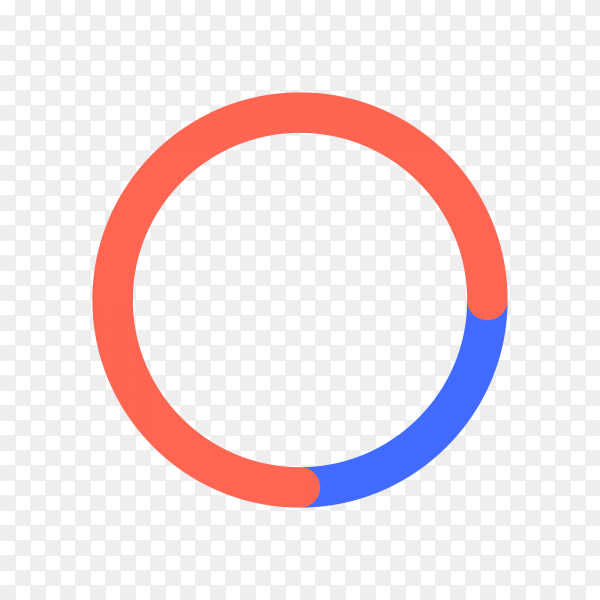 Loading icon illustration on transparent background PNG