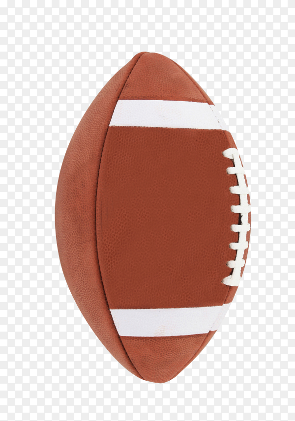 American football isolated on transparent background PNG