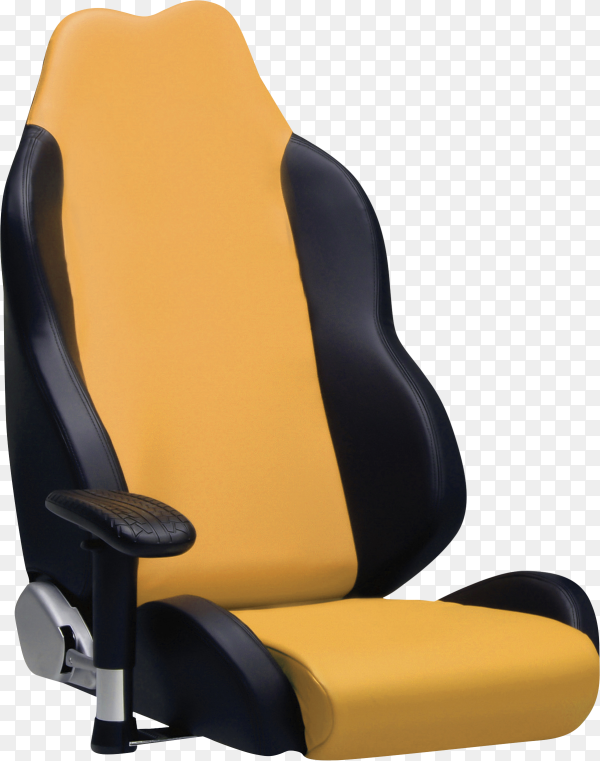 Baby car seat isolated on transparent background PNG