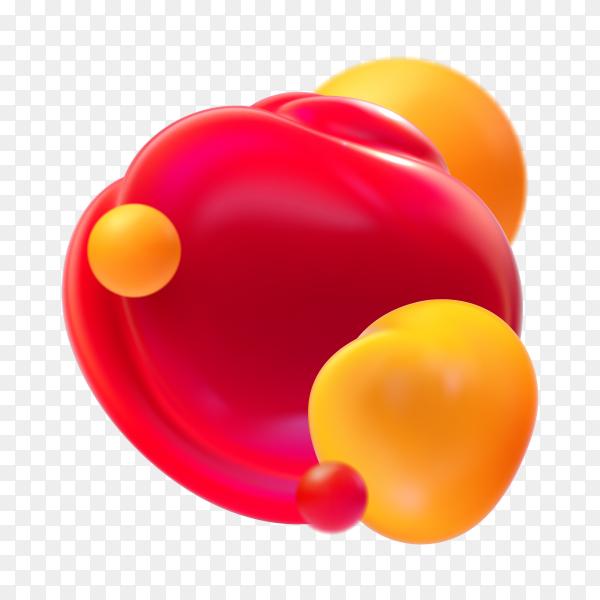 Bubbles on transparent background PNG