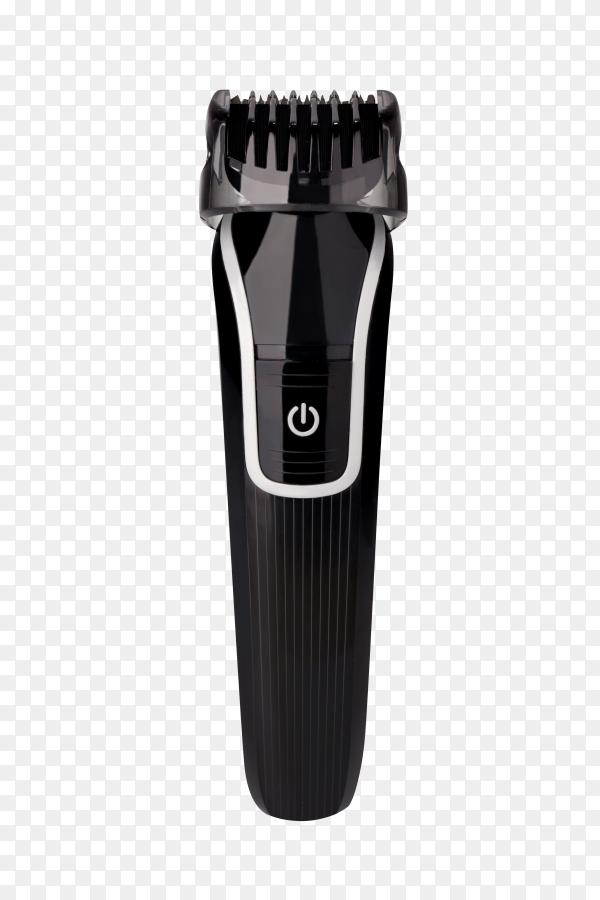Black Hair clipper on transparent background PNG