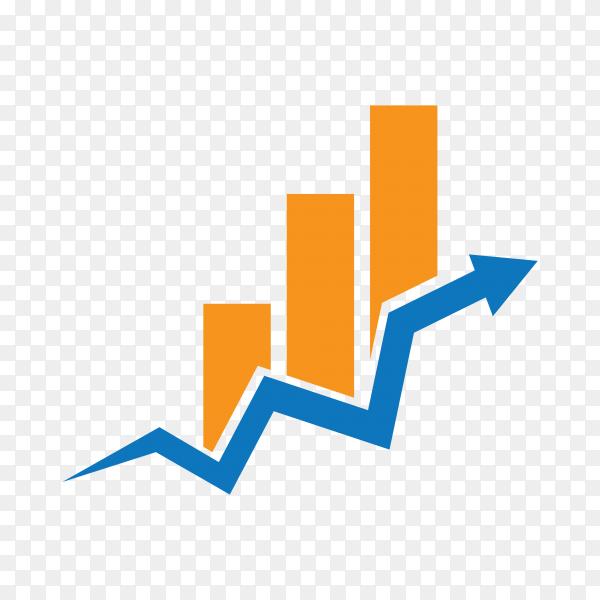 Business Finance logo design premium vector PNG