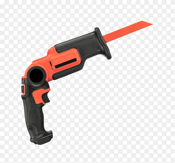 Electric Fretsaw Isolated on transparent background PNG
