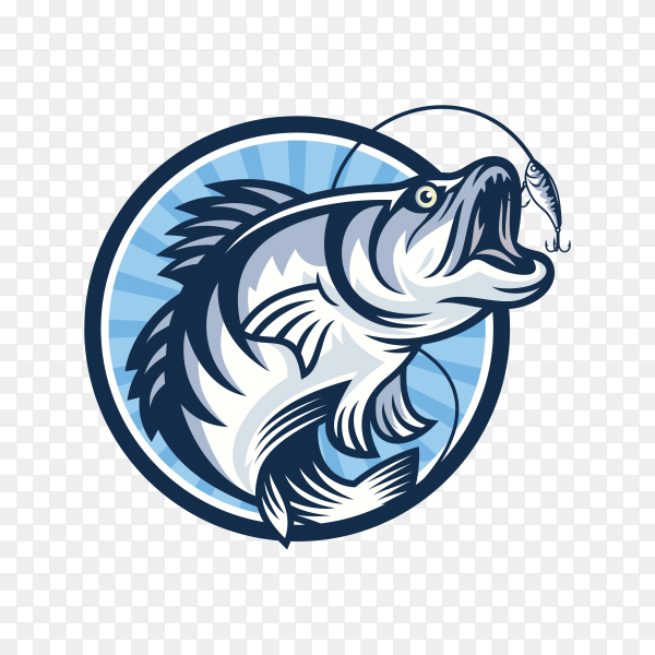 Fashing logo design template on transparent background PNG