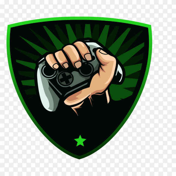 Gaming Xbox logo on transparent background PNG
