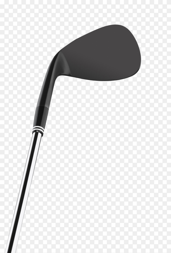 Golf club isolated on transparent background PNG