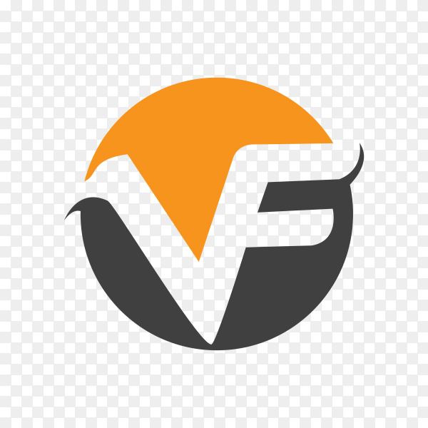 Illustration of business logo design on transparent background PNG
