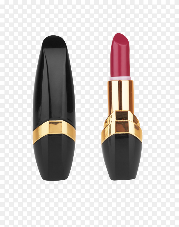 Lipstick isolated on transparent background PNG