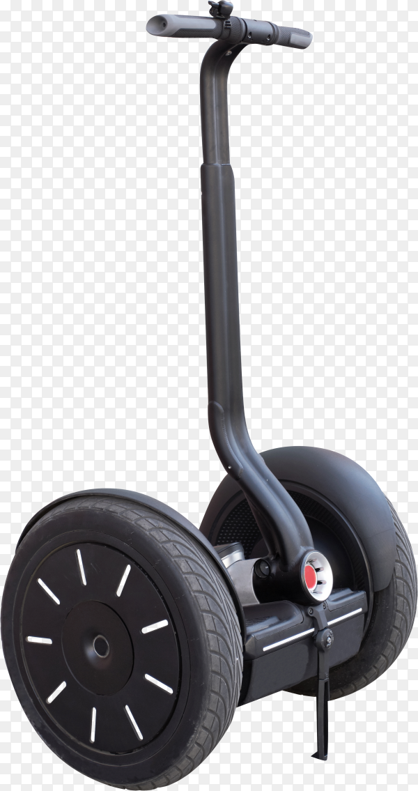 Segway with handle on transparent background PNG