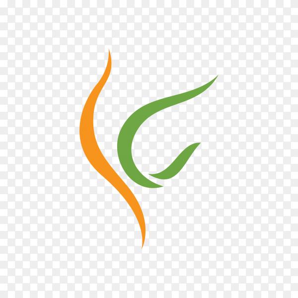 healthy life logo design premium vector PNG