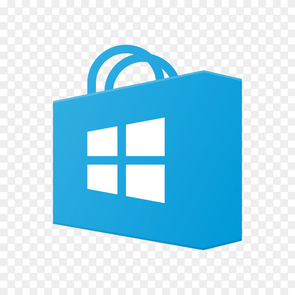 App store icon design on transparent background PNG