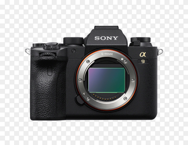 Camera isolated on transparent background PNG