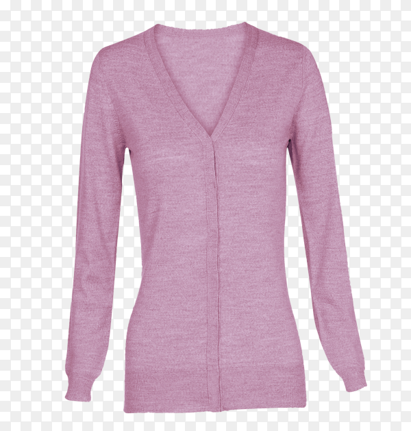 Cardigan isolated on transparent background PNG