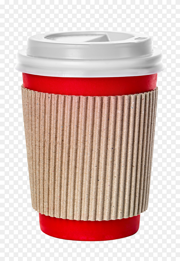 Coffee cup isolated on transparent background PNG