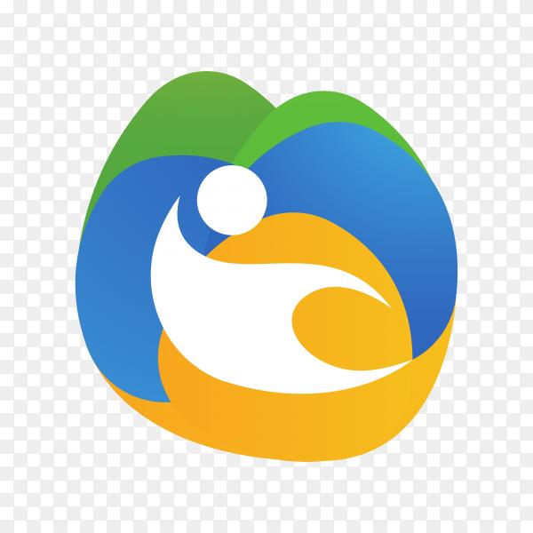 Community care logo on transparent PNG