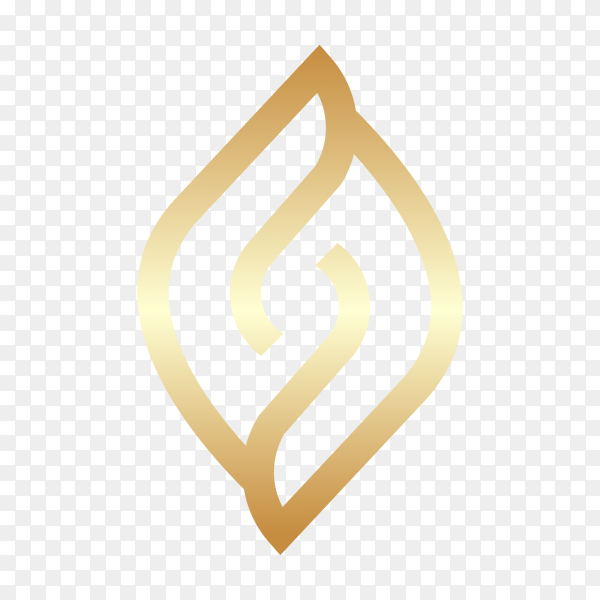 Letter s logo icon download template on transparent background PNG