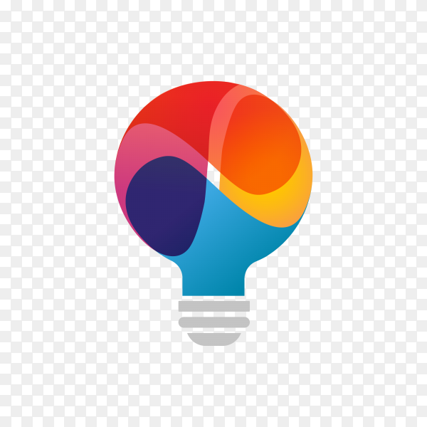 Light bulb – idea, creative, technology icon design on transparent background PNG