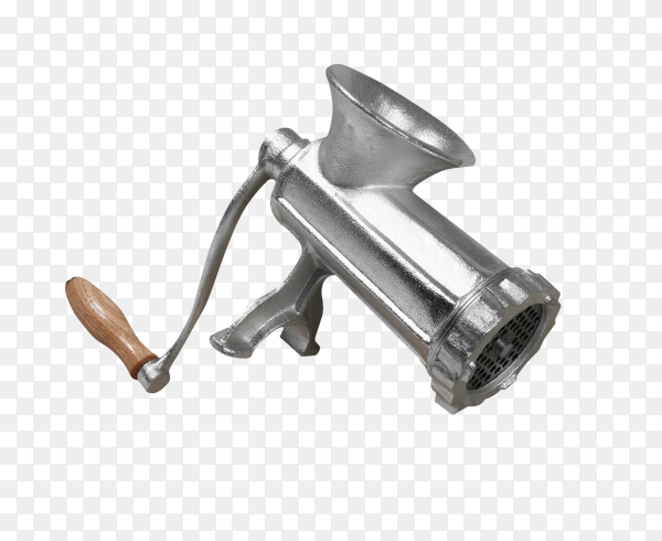 Meat grinder isolated on transparent background PNG