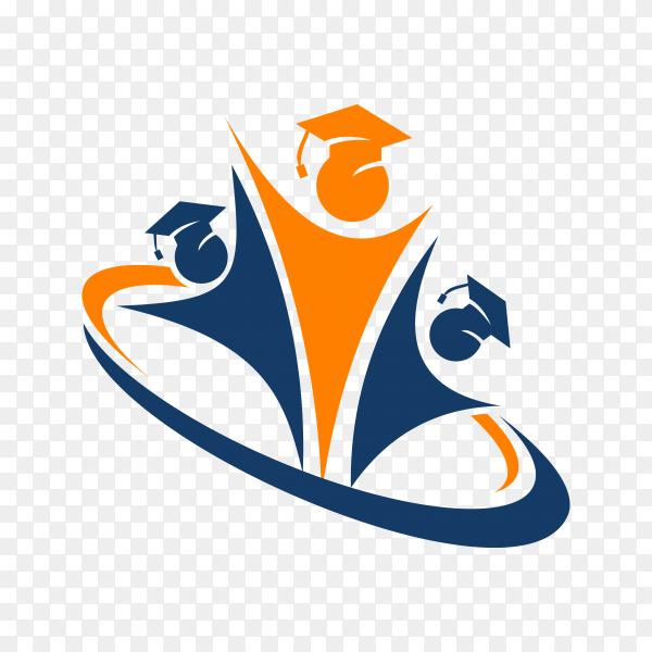 Success student Logo on transparent background PNG