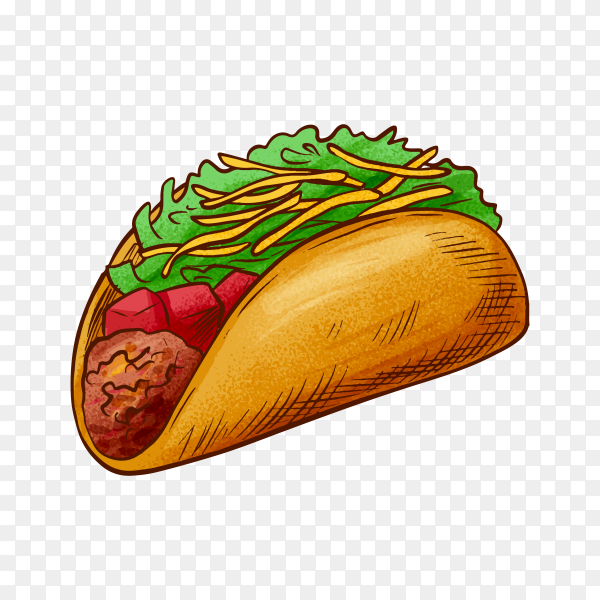 Delicious sandwich on transparent background PNG