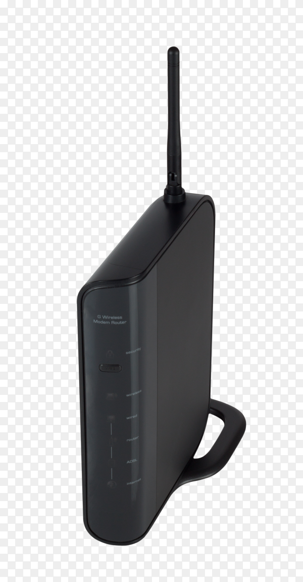 Wifi modem isolated on transparent background PNG